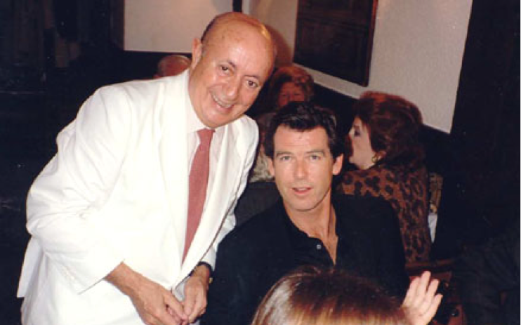 Lucio y Pierce Brosnam